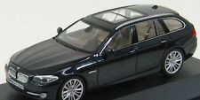 Sale !!! Schuco 1:43 BMW 5-Series 550i (F11) 2010 - Deep Blue w/ Engine Details