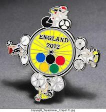 OLYMPIC PINS 2012 LONDON ENGLAND UK CYCLING ROAD TRACK MOUNTAIN BMX BIKING-S