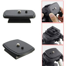 1x Tripod Quick Release Plate Screw Adapter Mount Head For DSLR SLR  Camera