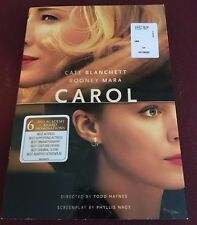 Carol (DVD, 2016) Cate Blanchett & Rooney Mara, BRAND NEW, WATCHED ONCE
