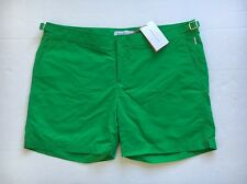 New ORLEBAR BROWN Green Bulldog Swim Trunks Beach Shorts size 40 Classic NWT
