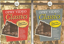 OPRY VIDEO CLASSICS - I & II - 16 DVDs - 240 Songs - NEW/ SEALED