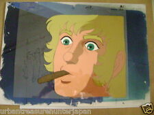 SPACE COBRA BUICHI TERASAWA ANIME PRODUCTION CEL AND BACKGROUND