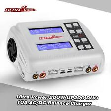 Ultra Power UP200 DUO 200W 10A AC/DC Battery Charger for LiPo RC Battery T5X3