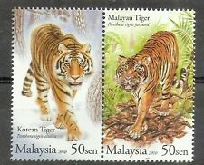 Malaysia-Korea Joint Issue 2010 Tiger Big Cat Endanger Wildlife Fauna (stamp MNH