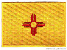NEW MEXICO STATE FLAG PATCH EMBROIDERED IRON-ON new APPLIQUE EMBLEM