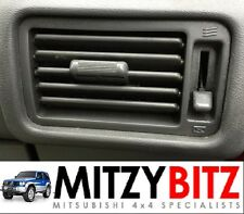 MITSUBISHI PAJERO SHOGUN MK2 GREY DRIVERS SIDE OSF DASH AIR VENT