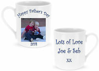 Personalised Photo and Message on a Mug - Gift for Father's Day Birthdays Xmas