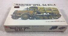 Bandai 1:48 Maultier Opel. Sd.Kfz.4 with 4 Soldiers Plastic Model Kit #6 FS