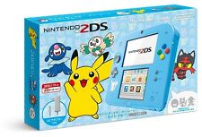 Nintendo 2DS Console Pokemon Sun Moon Light Blue JAPAN IMPORT OFFICIAL F/S
