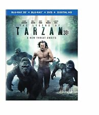PRE-ORDER: THE LEGEND OF TARZAN  - 3-D BLU RAY Sealed Region free for UK