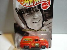 Hot Wheels Andretti Racing Red '56 Ford Panel Truck w/Real Rider Wheels
