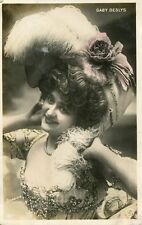 Vintage French RPPC postcard - Actress Gaby Deslys - Stebbing C947