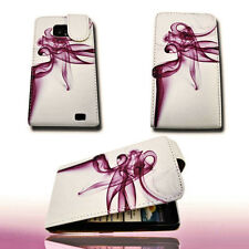 Design 10 Flip Tasche Cover Case Handy Hülle Etui  für Samsung i9100 Galaxy S2