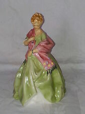 Royal Worcester First Dance ceramic lady figurine ornament – F Doughty