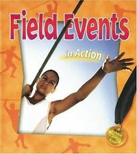 Field Events in Action (Sports in Action)-ExLibrary