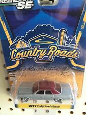 Greenlight COUNTRY ROADS 1977 Dodge Royal Monaco.  maroon & Silver