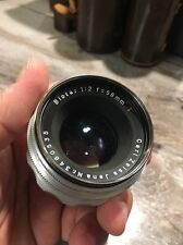 Carl Zeiss Jena Biotar 1:2 58mm red T M42 mount