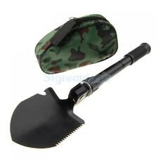 Folding Camping Spade Shovel Pick Axe Army Military Snow Entrenching Tool
