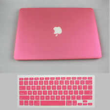 For Mac Macbook Pro 13/15 Retina Rubberized Hard Painting Case +Silicon KB Cover