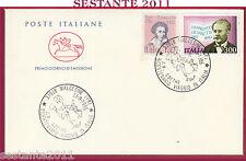 ITALIA FDC CAVALLINO J. W. GOETHE VIAGGIO IN ITALIA 1986 MALCESINE VR Y387