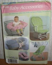 Baby Accessories Stroller Carrier & Seat Covers Sewing Pattern/Simplicity 4636/N