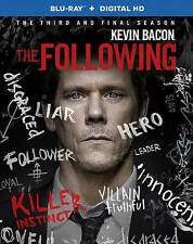 The Following: The Complete Third Season (Blu-ray Disc, 2015, 3-Disc Set)