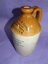 ANTIQUE DEMIJOHN S.F.JONES & SONS MANCHESTER C. 1931 BY PEARSON &CO ART DECO