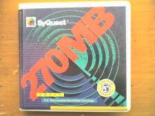 SYQUEST 270mb Disk - 1 confezione (1) DEL DISCO-PC formattato-Usato-in buonissima condizione.