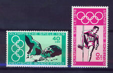 ALEMANIA/RFA WEST GERMANY 1976 MNH SC.B530/B531 Olympic Games Montreal