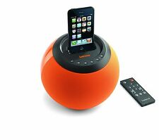 Lenco Docking Station Speaker Dock Alarm Clock iPod iPhone 3 4 iPod 30 Pin
