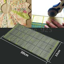 Clear Acrylic Quilt Ruler Patchwork Sew Sewing Tools DIY Crafts 11.8'' x 5.9''