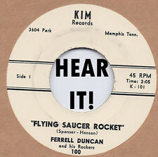 ROCKABILLY REPRO: FERRELL DUNCAN - Flying Saucer Rocket/Little Susie KIM