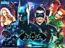 SEGA BATMAN FOREVER FLIPPER Gabinetto LIGHT VERDE MOD