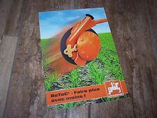 Prospectus / Brochure AMAZONE RoTeC +2007 //