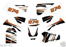 NG racing DESIGN KTM EXC 125 200 250 300 450 525 Motocross CUSTOM PLATE Kit 2004