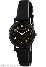 Casio Women's Black Resin Watch, Analog, Water Resistant, LQ139A-1E
