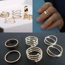Wholesale Fashion Women Lady Vintage Ring Jewelry Beauty Finger Gold Plated Gift