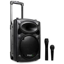 PRO SONO PORTABLE IBIZA PORT8VNH-BT ENCEINTE ACTIVE DJ PA DISCO USB SD MP3 2XMIC