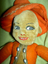 "Norah Wellings England cloth, ""PANCHITO"", 10"" Mexican boy doll model #K20, c1936"