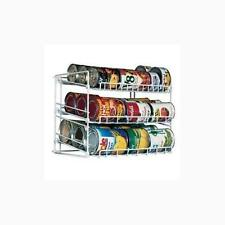 Canned Food Can Rack Kitchen Cupboard Cabinet Pantry Storage Holder Organizer