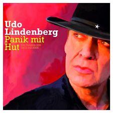 """UDO LINDENBERG """"PANIK MIT HUT-DIE SINGLES"""" 2 CD NEUWARE"""
