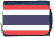 Thailand Flag Denim Wallet