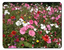 Poppies and Wild Flowers Computer Mouse Mat Christmas Gift Idea, FL-10M