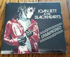 Joan Jett & The Blackhearts Unvarnished CD 2013 Best Buy Edition 4 Bonus Tracks