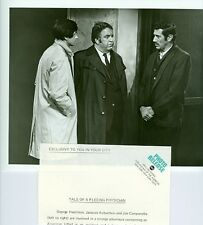 GEORGE HAMILTON JACQUES AUBUCHON JOE CAMPANELLA PARIS 7000 1970 ABC TV PHOTO