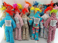 "NEW Random Pattern Different Color Stress Relief 12"" Dammit Plush Doll 4pcs"