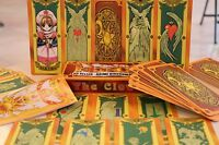 USA Seller Cosplay Anime Card Captor Sakura The Clow cards with 56 Tarot Cards