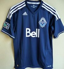Women's MLS Adidas Vancouver Whitecaps F.C. Soccer Jersey M NEW