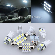 11PCS Xenon 6000k White LED Lights Interior Package Kit for Chevy Suburban 00-06